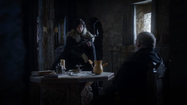 GoT S01E09 00.12.37 - Lord Mormont's Room