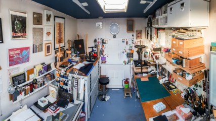 2019.03.08 - Visiting Nautilus Boekbinderij - Studio of Eliane Gomes in Haarlem, the Netherlands 02
