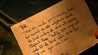 GoT S02E03 00.35.08 - Theon's letter to Robb