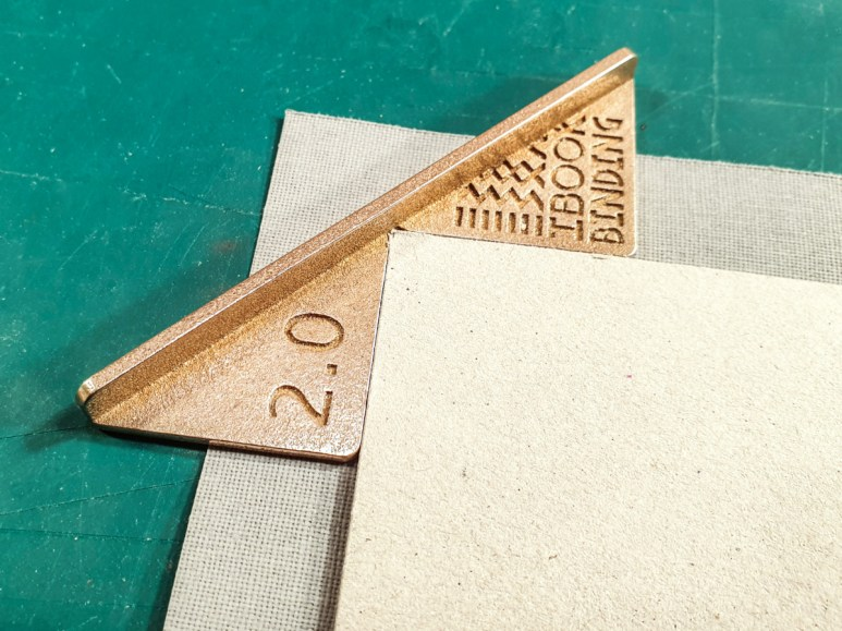 2019.05.28 - Steel and Brass Versions of the Corner Cutting Jig by iBookBinding 04