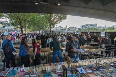 2019.09.08 - Southbank Book Market in London 02