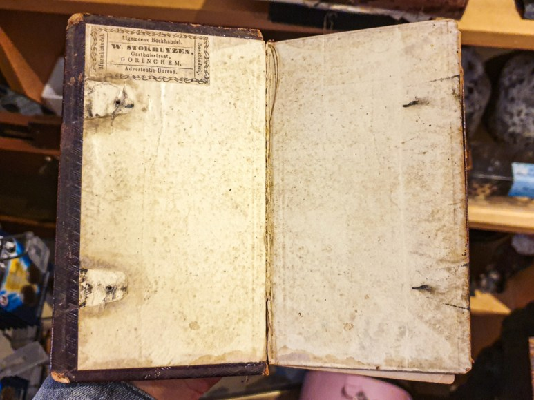 2019.09.23 - How Not to Repair a Book's Spine - Inside View 1