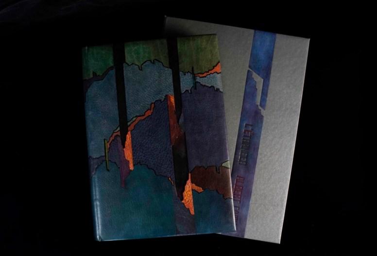 2019.10.07 - Inspiring Bookbinding Projects of September - Albert Camus - L'Etranger by Huhu Hu 05
