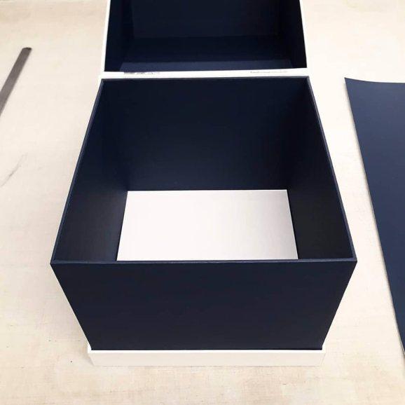 2019.10.07 - Inspiring Bookbinding Projects of September - Hinged Cubic Box by Sarah Baldi 02