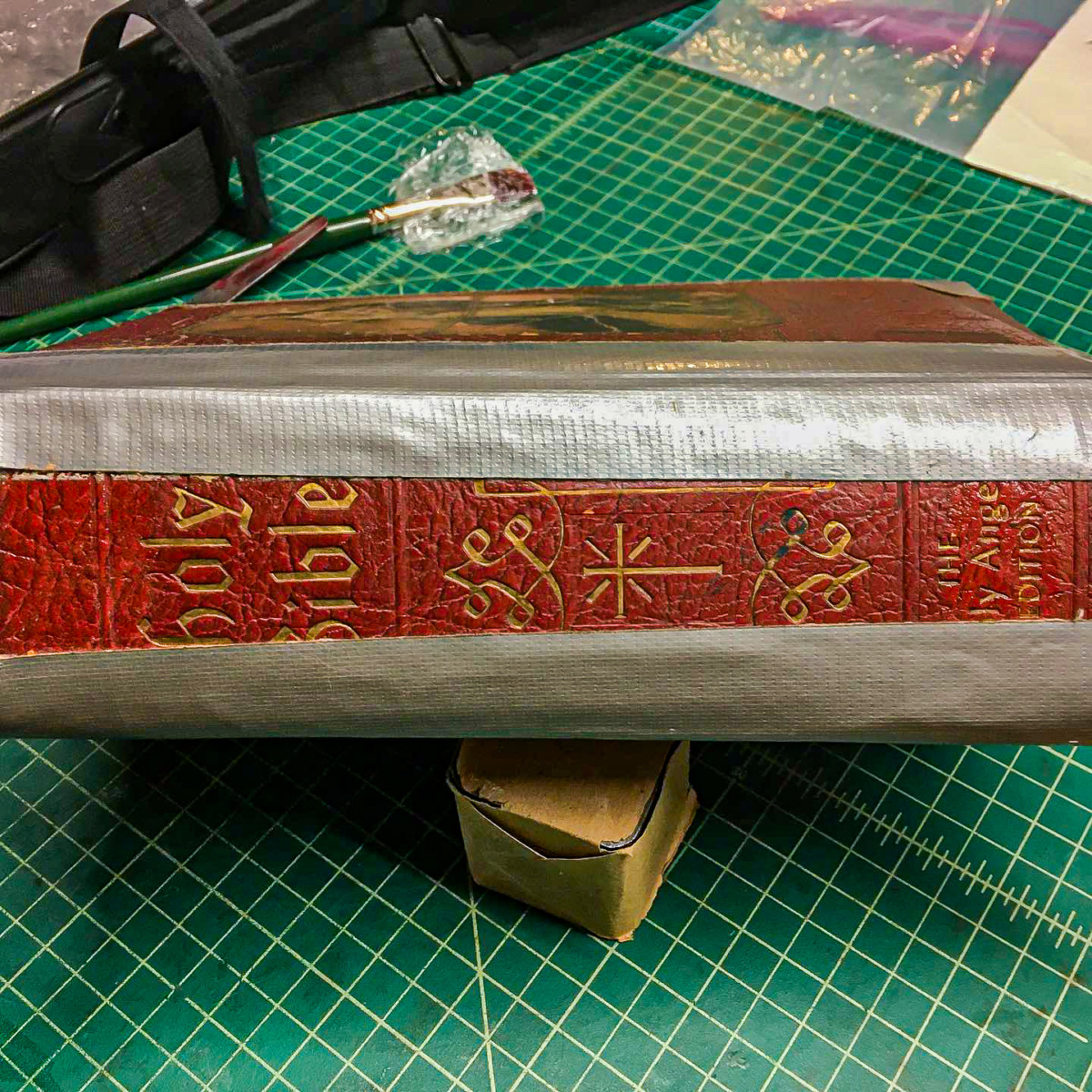 How Not To Repair Your Bible With Duct Tape 6