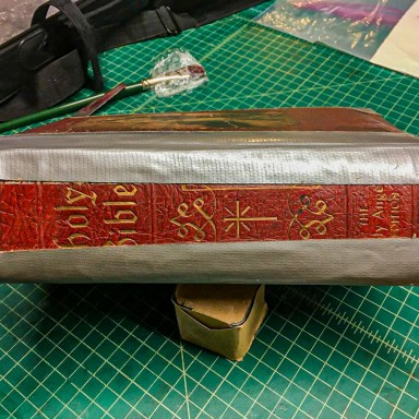 2019.11.05 - How Not to Repair Your Bible With Duct Tape 6