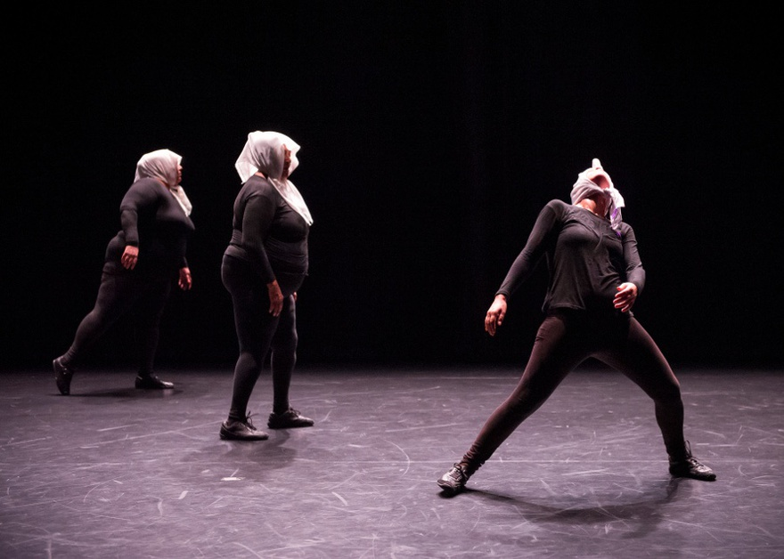 Bouchra Ouizguen, Ha!, performed at New York Live Arts, 2013.