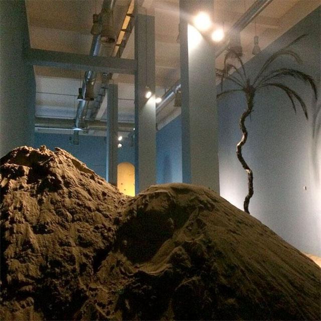 Wael Shawky, Al Araba Al Madfuna, 2016. Installation view, Fondazione Merz, Turin.