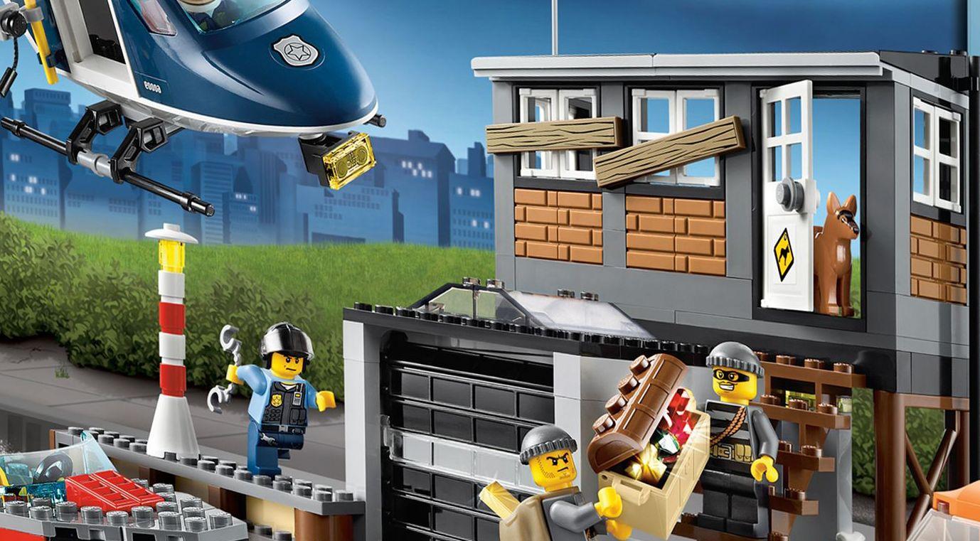 Lego City 2013 Police And Traffic Sets I Brick City