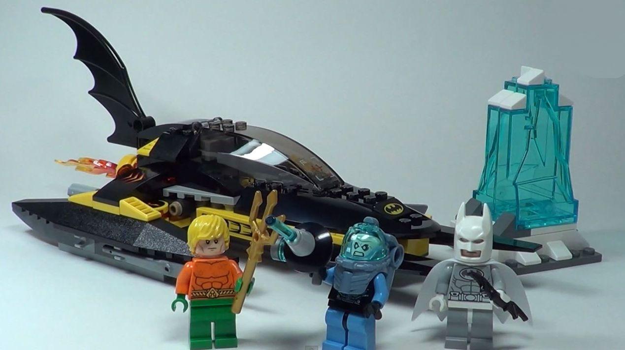 Lego 76000 Arctic Batman Vs Mr Freeze Aquaman On Ice