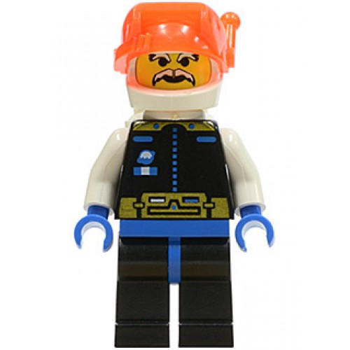 LEGO Minifigure sp019 Ice Planet Chief   iBricktoys  LEGO shop guide     Ice Planet Chief