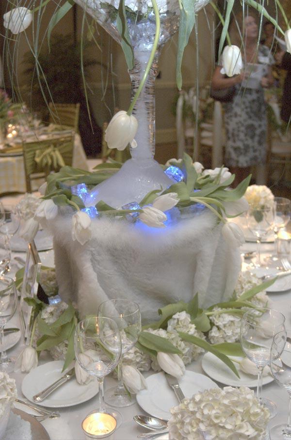 Sativas Blog Arctic Winter Wedding Theme Wedding Table
