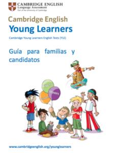 Folleto cursos de cambridge English para niños Sevilla