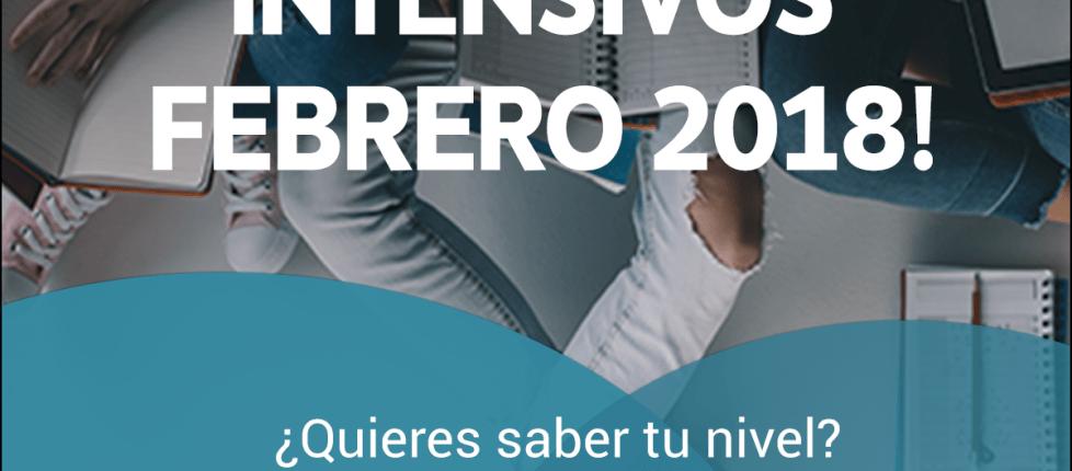 Nuevos cursos intensivos febrero 2018 Sevilla CAE, FCE, PET,