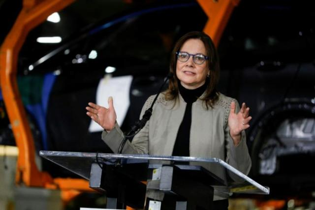 General Motors CEO Mary Barra said the partnership with electric truck maker Nikola will bring down the cost of producing the batteries needed for an all-EV future
