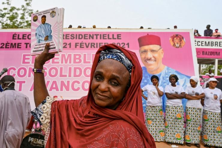 Bazoum won a runoff vote for the presidency in February