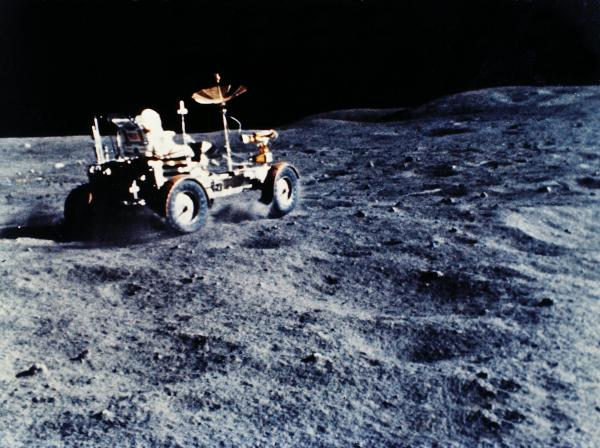 NASA Landed Electric Cars On The Moon Decades Before Elon
