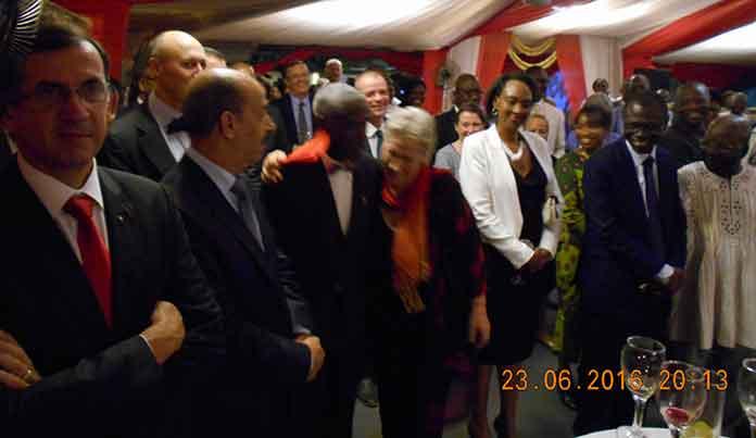 Les personnalités invitées à la célébration de la fête nationale de Luxembourg