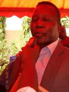 Le Président de ''Association des Médias en ligne'' Dr. Cyriaque Paré