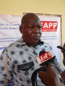 Le Président de la SEP, M. Boureima Ouédraogo
