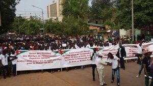 Une foule immense a pris part à la marche de la place de la Nation à l'ex-Assemblée nationale