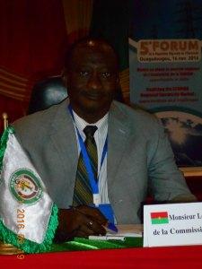 Le représentant de la CEDEAO au 5 ème forum de l'ARREC