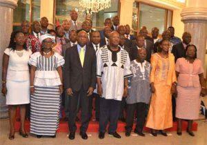 Le gouvernement de l'an I du MPP et alliés