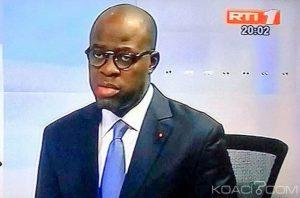 Le ministre de la Défense Alain-Richard Donwahi,