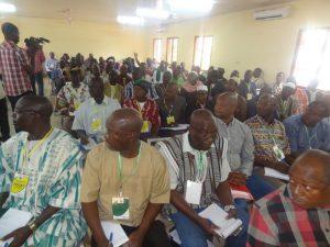 Les cotonculteurs sont venus nombreux pour prendre part à l'élection des membres du bureau de l'UNPCB