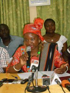 Mme Raïnatou Sawadogo / Ouédraogo, maire de l'arrondissement 3 de Ouagadougou
