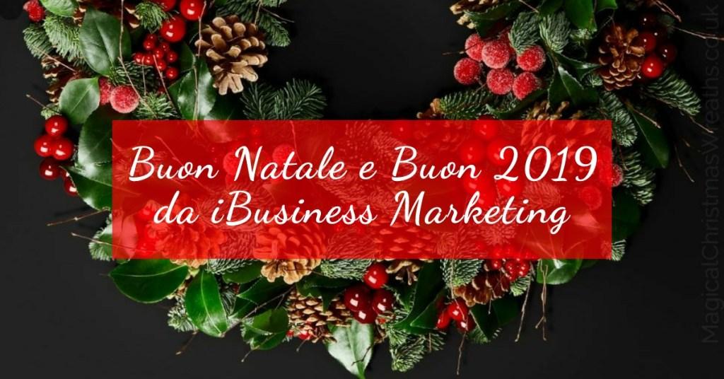 Auguri di Buon Natale e Buon Anno da iBusiness Marketing