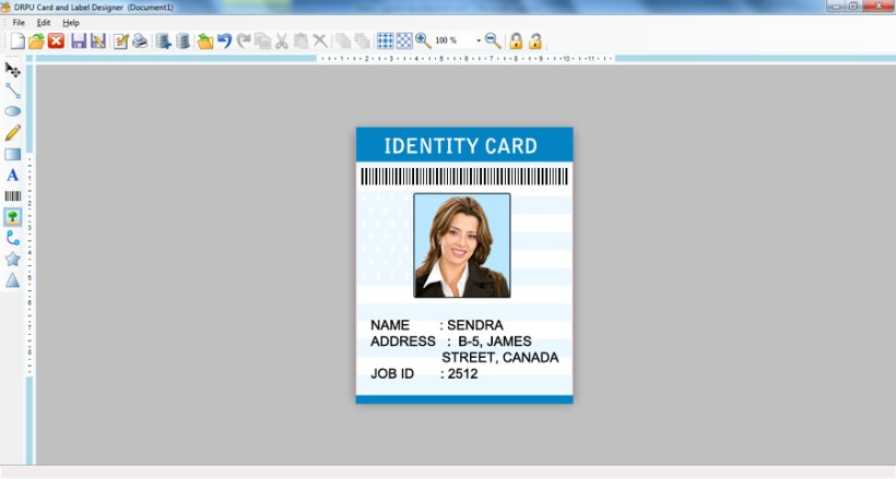 free id card maker software online cardss co