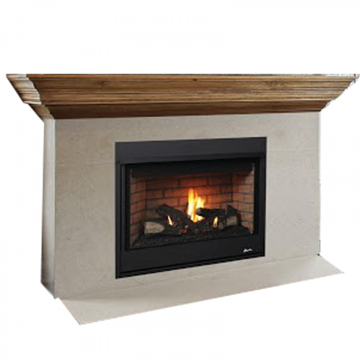 Ihp Superior Drt Tmn 35 Dv Ng Top Vent Mv Fireplace