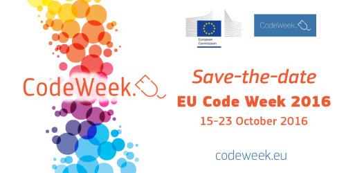 logo codeweek 2016