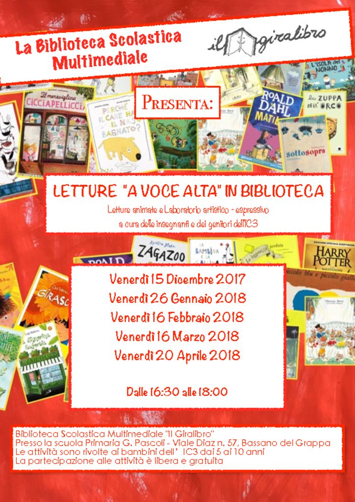 thumbnail of Biblio volantino letture 2018
