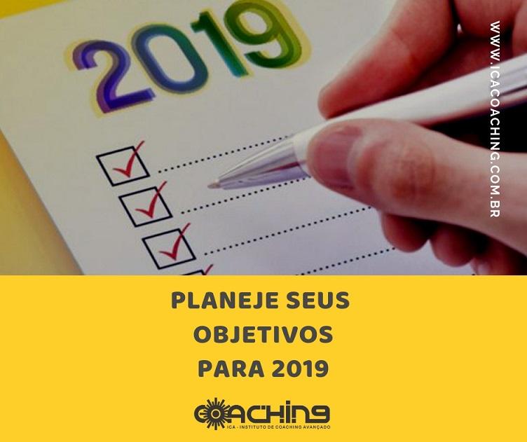 Planeje seus objetivos para 2019
