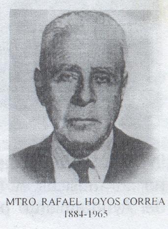 El primer director de la Banda de Música de Tehuacán