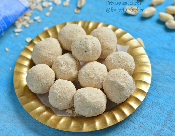 Oats & Nuts ladoo