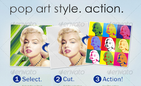 Pop-art-premium-photoshop-actions