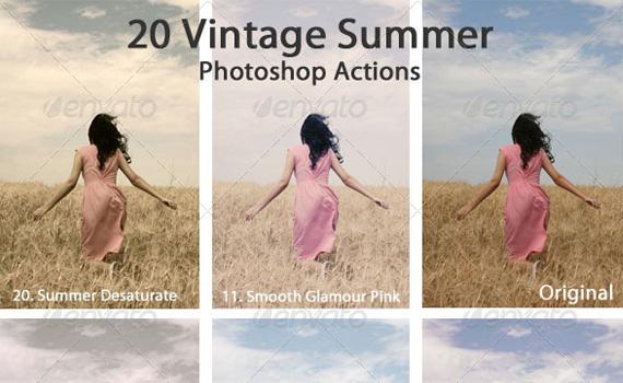 Vintage-summer-premium-photoshop-actions