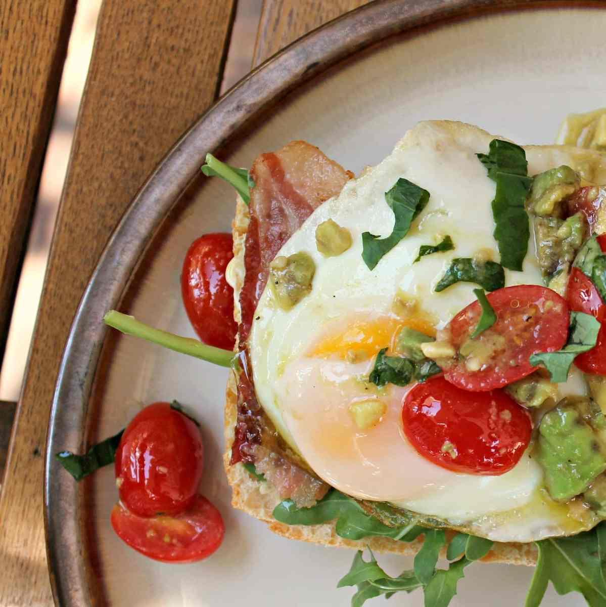 Egg BLT With Avocado