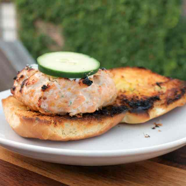 Fresh Salmon Burgers