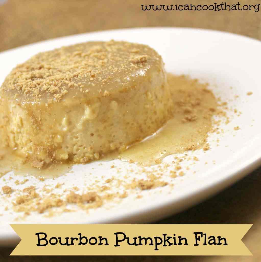 Bourbon Pumpkin Flan