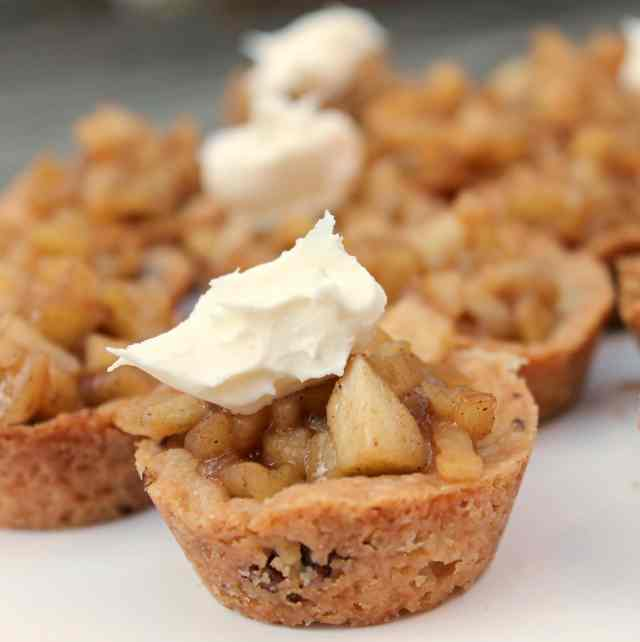 Spiced Apple Two Bite Tarts