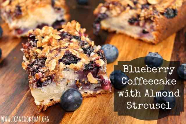 Blueberry Coffeecake with Almond Streusel