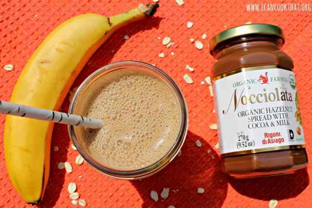 Hazelnut-Mocha Banana Smoothie
