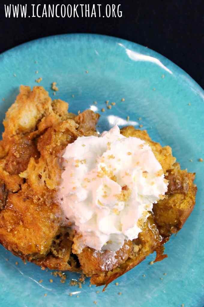 Slow Cooker Pumpkin Pie Spice French Toast Casserole #DelightfulMoments