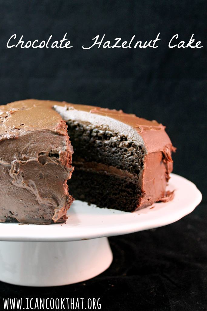 Chocolate Hazelnut Cake #SplendaHoliday