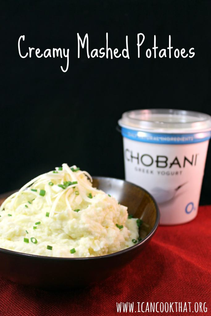 Creamy Mashed Potatoes #HolidayWithChobani