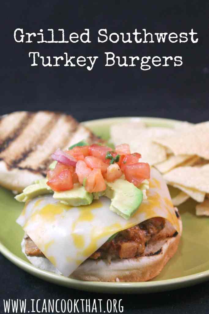 Grilled Southwest Turkey Burgers